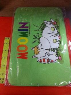 河馬家族 可愛地墊 38*58cm#MOOMIN