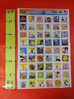 郵票格子貼紙 華納 001號