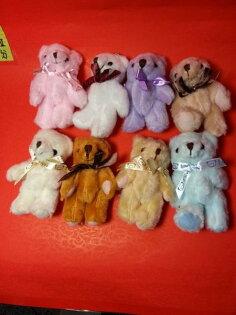 小熊鑰匙?1隻#不挑色(款)造型娃娃玩偶抱枕布偶抱枕