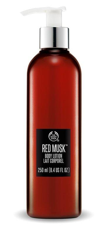 【彤彤小舖】The Body Shop 紅麝香身體潤膚乳 8.4oz / 250ml 短效期2014年10月製造