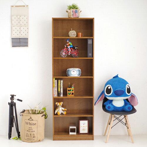 台灣製收納櫃 小田原六格書櫃 置物櫃 書櫥 展示架櫃子《YV8624》快樂生活網