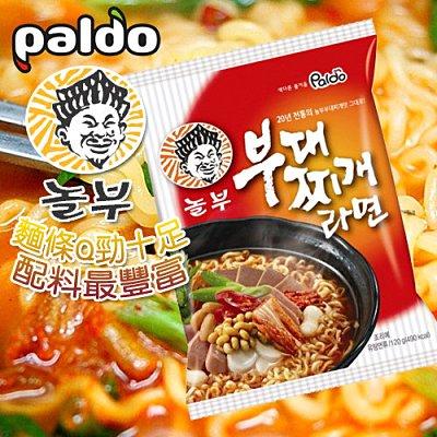 有樂町進口食品 韓國八道Paldo部隊麵8801128509732 1