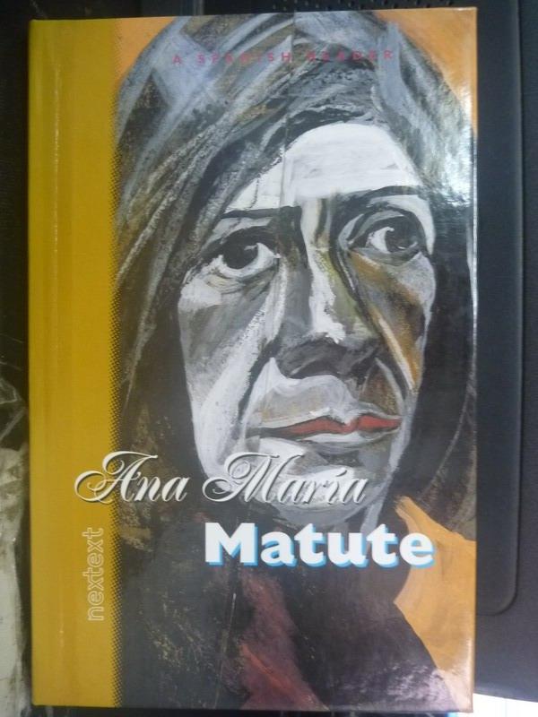 【書寶二手書T5/傳記_XDD】Ana Maria Matute_Matute, Ana Maria