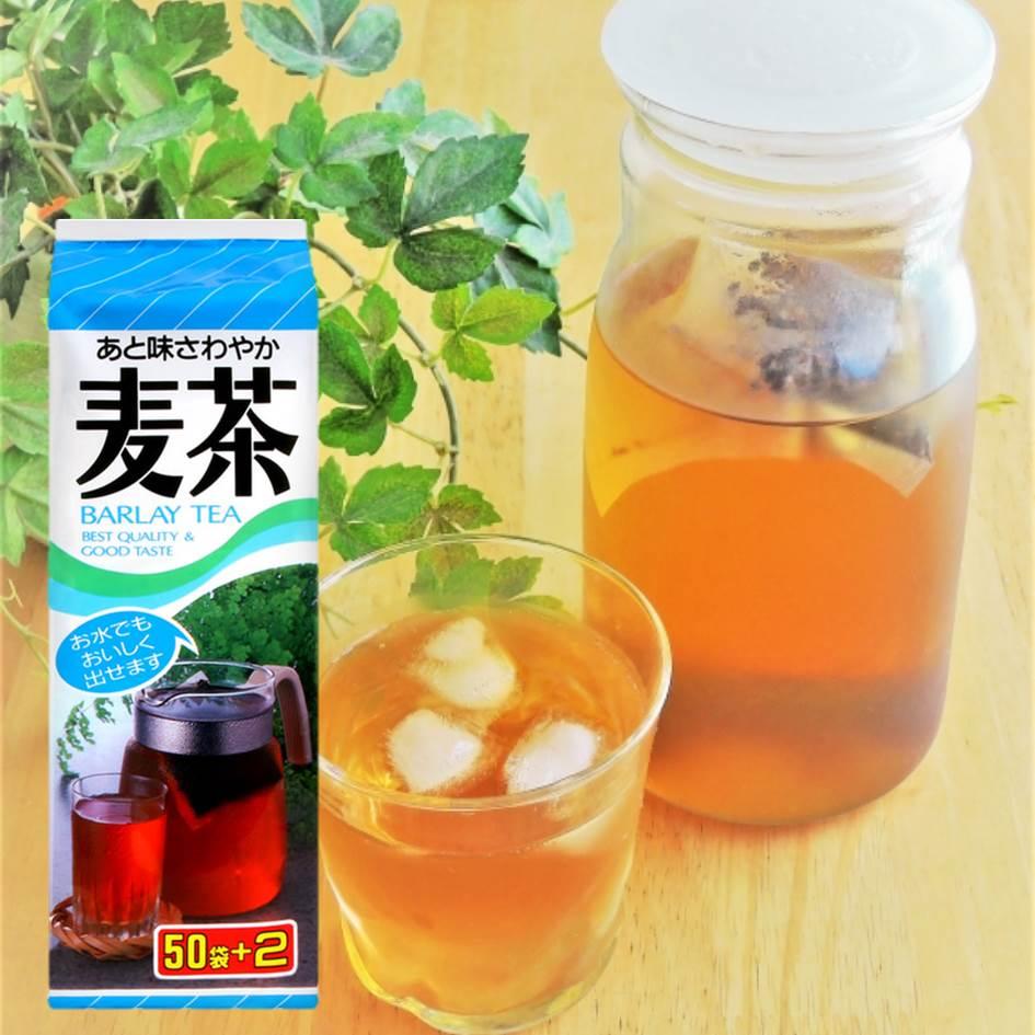 【長谷川商店】袋裝冷溫水麥茶茶包 52入Barlay Tea 日本進口茶包