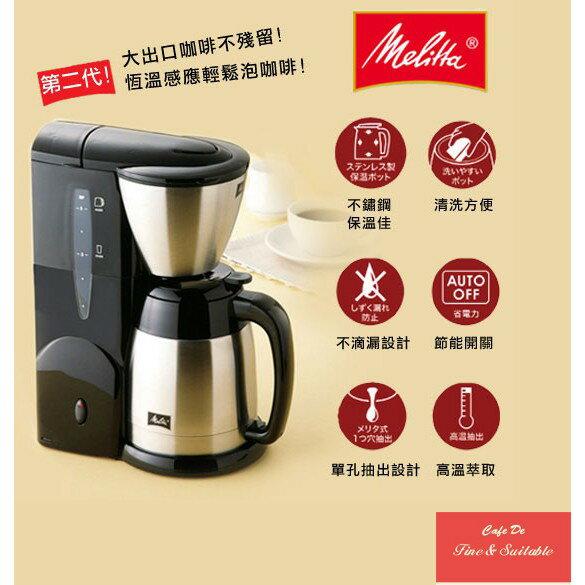 第三代Melitta美式咖啡機MKM531【超商取貨單筆訂單限購1台】