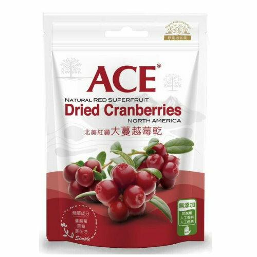 ACE北美紅鑽大蔓越莓乾180g【六甲媽咪】