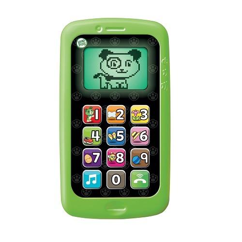 寶貝俏媽咪婦嬰用品館 【LeapFrog】 美國跳跳蛙 數數聰明小手機 (粉/ 綠)