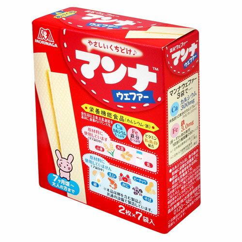 MORINAGA森永MANNAR嬰兒威化餅(35.7g)