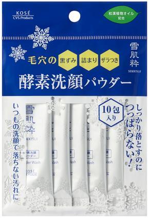 日本KOSE 雪肌粹酵素洗顏粉 (10包入) - 限時優惠好康折扣