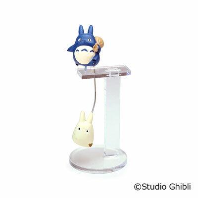 【真愛日本】 17050300029 平衡晃晃擺飾-藍龍貓揹袋 宮崎駿 龍貓 TOTORO 豆豆龍 收藏 裝飾