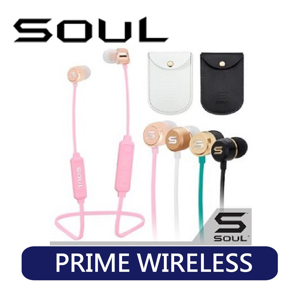 <br/><br/>  SOUL | PRIME WIRELESS 高效能無線藍牙耳機 /粉/黑<br/><br/>