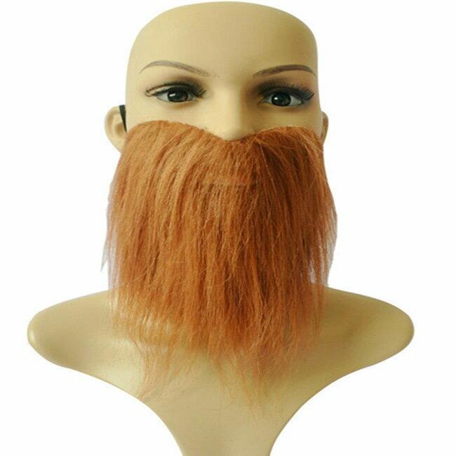假鬍子 假鬍鬚 仿真 全面罩 鬍鬚大鬍子(三色) 假鬍子 萬聖節/派對/服裝/角色扮演/變裝【塔克】