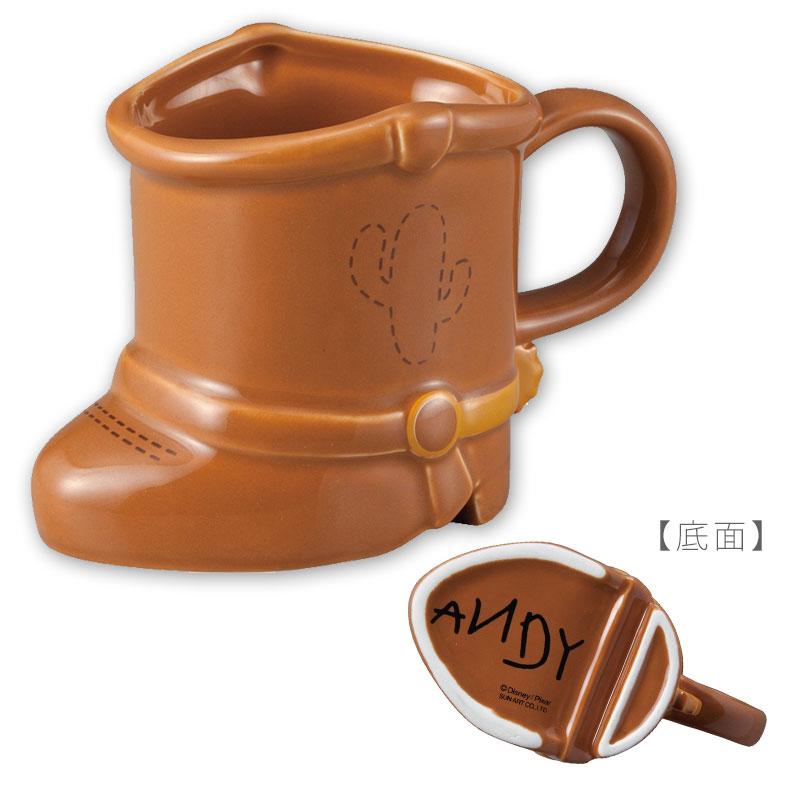 【真愛日本】18050400015 造型馬克杯-腳丫胡迪 玩具總動員 胡迪靴子馬克杯 陶瓷馬克杯 杯子 筆筒