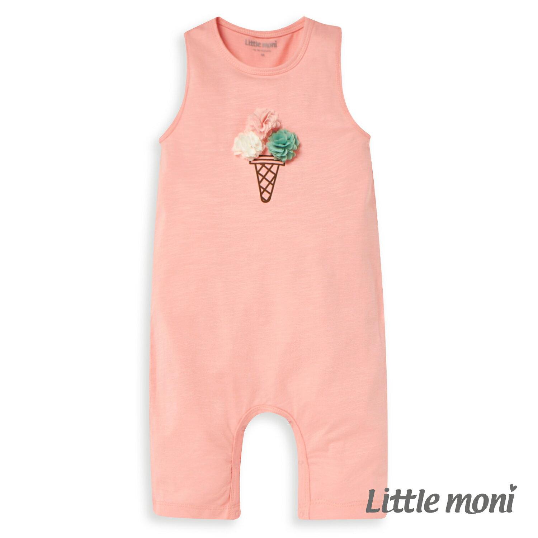 Little moni 立體冰淇淋連身褲-粉紅(好窩生活節) 1
