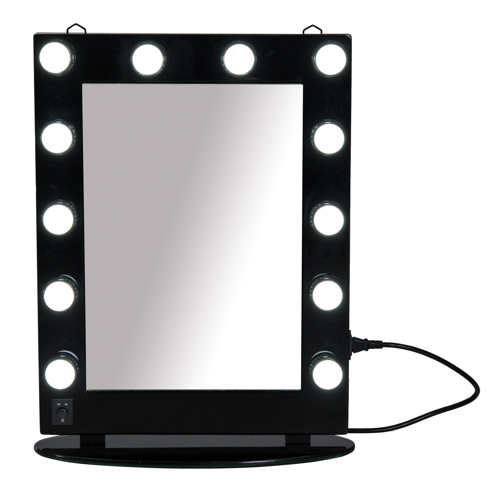Delicious Hollywood Style Led Vanity Mirror Lights Kit With Dimmable Light 10 Bulbs For Vanity Mirror Makeup Vanity Table Set In Dressing Selected Material Lamps & Shades