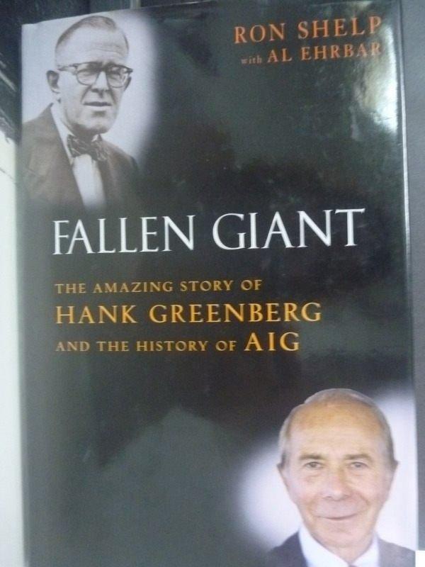 【書寶二手書T6/傳記_WFJ】Fallen Giant: The Amazing Story