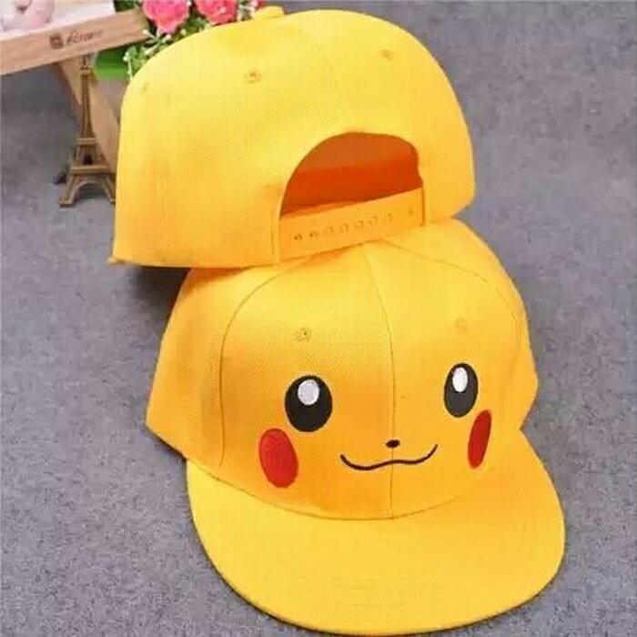 tangyizi輕鬆購【DS022】寶可夢 神奇寶貝 Pokemon精靈 皮卡丘兒童棒球帽?(預購款10天)