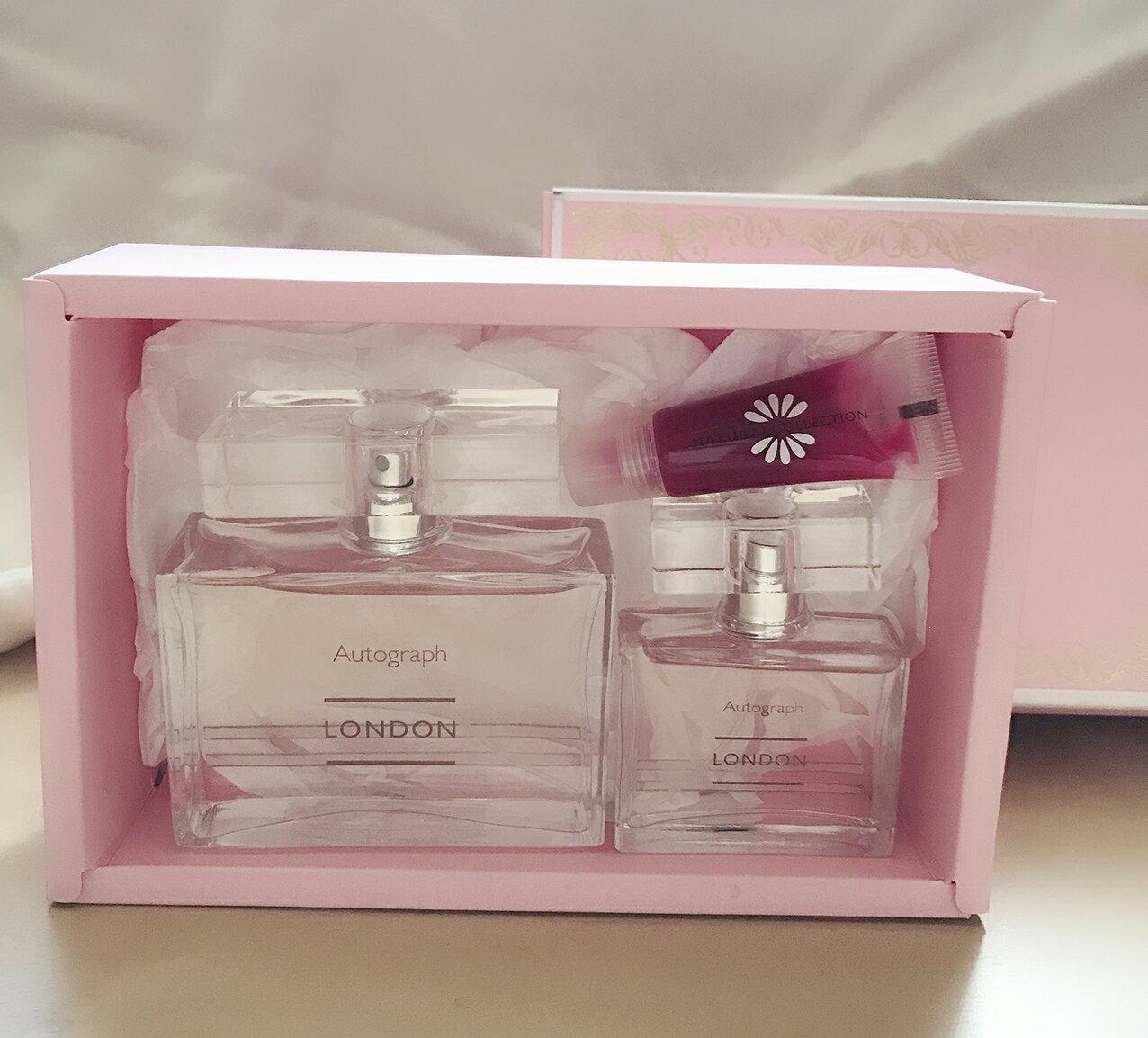 *Realhome* 英國馬莎 Marks & Spencer 倫敦LONDON 限量香水禮盒 買大送小
