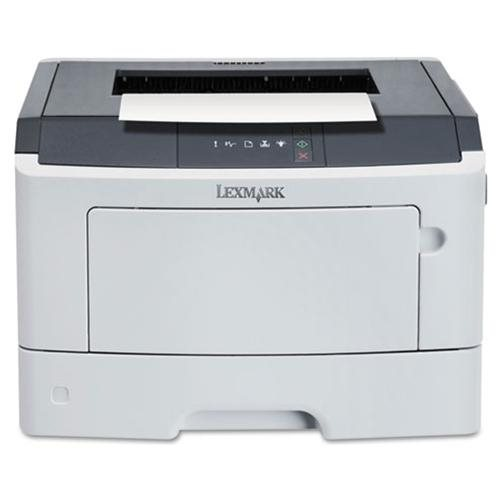 Lexmark MS310DN Laser Printer - Monochrome - 1200 x 1200 dpi Print - Plain Paper Print - Desktop - 35 ppm Mono Print - 300 sheets Standard Input Capacity - 50000 pages per month - Automatic Duplex Print - LED - Ethernet - USB 1