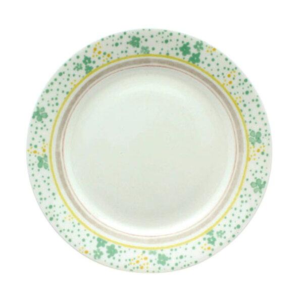 IZAWA日本美濃燒小碎花蛋糕盤192mm綠色