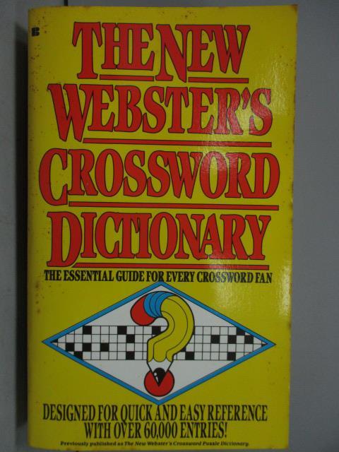 ~書寶 書T1/原文書_LBS~The new wester #x27 s Crosswo