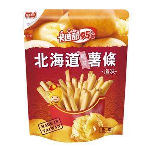 卡迪那 95℃北海道風味薯條-鹽味 40g/袋