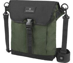 Victorinox 瑞士維氏  Altmont 3.0  揭蓋式平板電腦單肩袋 TRGE-601451 側背包 (黑綠)  /  個