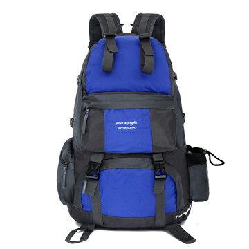 【FREEKNIGHT】50L 大容量休閒登山背包/運動後背包(藍) FK218BU