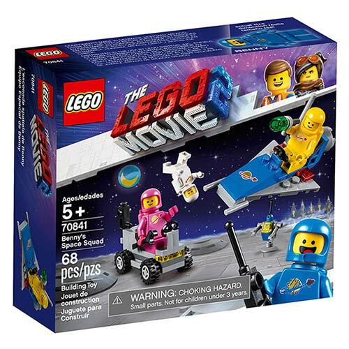 樂高LEGO 70841  The LEGO Movie 樂高電影系列 >Benny's Space Squad - 限時優惠好康折扣