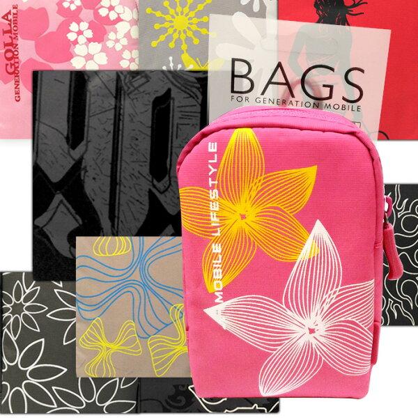 多彩塗鴉時尚扣環包 多層收納 萬用多用途包 3C收納 防潑水 腰包 手機包 零錢包 手機袋 老人機 貝殼機