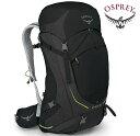 Osprey Stratos 50 登山背包/郊山背包/中背包/網架背包/50公升背包 男款 黑色