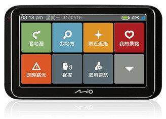 送3孔擴充『 Mio Classic 630 Traffic 』GPS衛星導航/動態測速預警/聲控導航與景點語音搜尋/即時路況/‧國道里程收費計算/另售GARMIN
