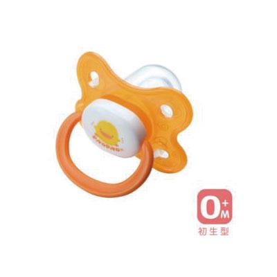 【悅兒樂婦幼用品?】Piyo 黃色小鴨 拇指型安撫奶嘴(初生型)