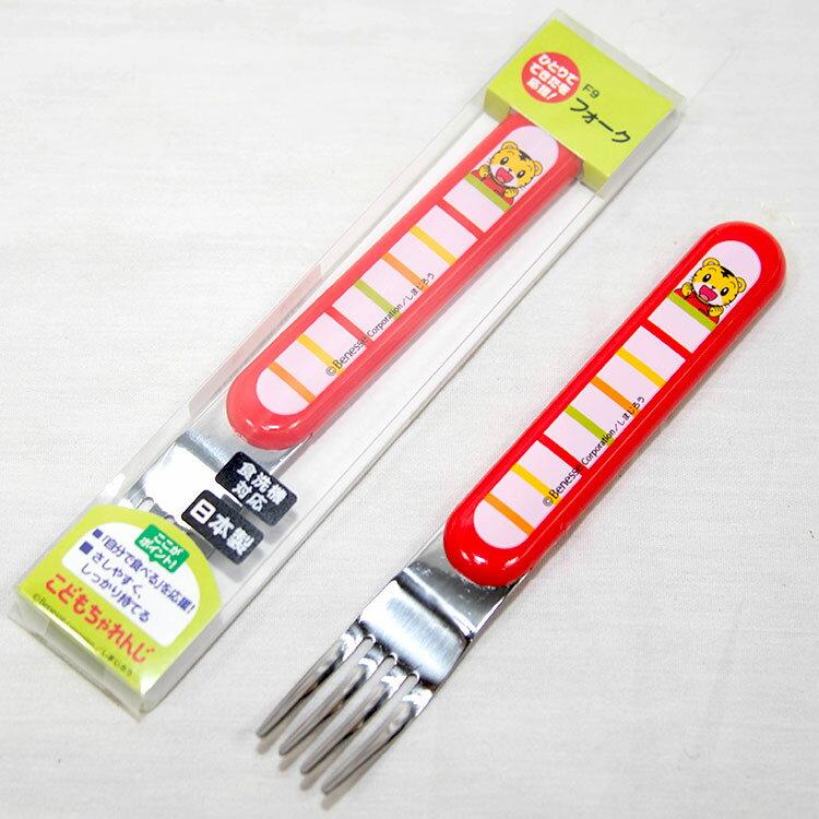 巧虎 幼儿叉子 日本制 正版品 巧连智