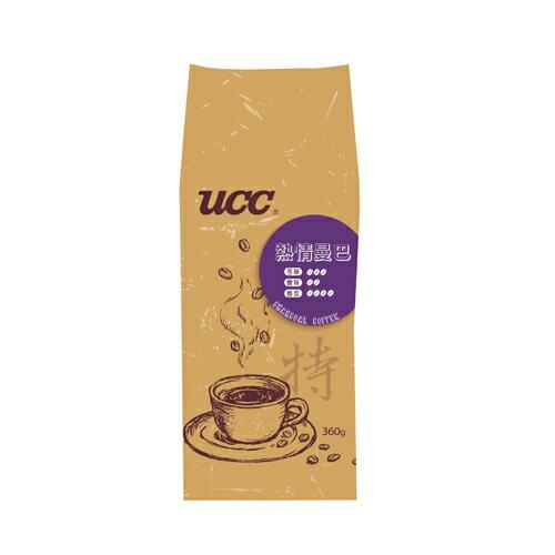 UCC熱情曼巴咖啡豆360g【愛買】
