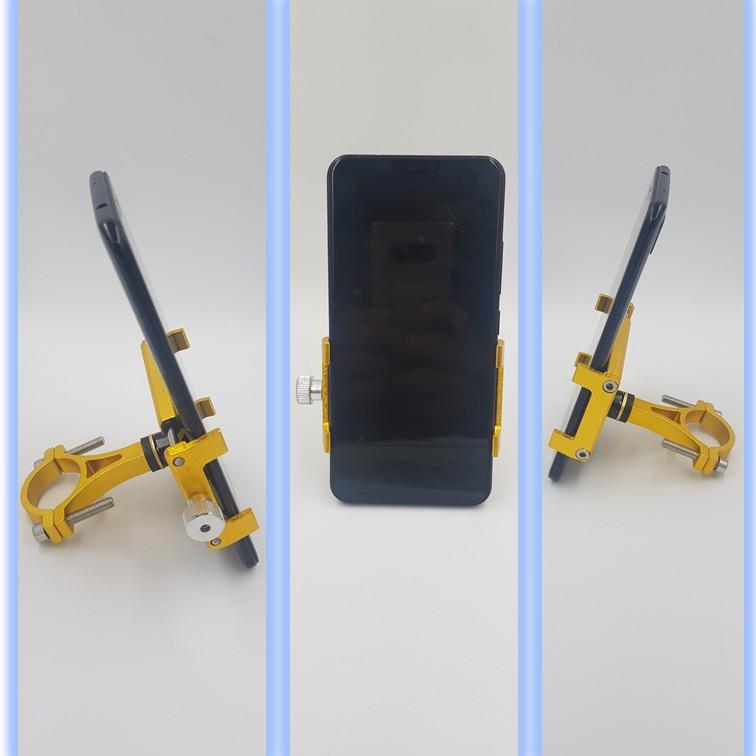 (開發票)鋁合金機車手機支架