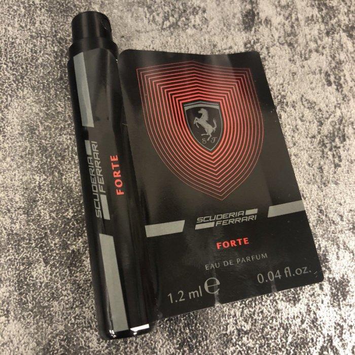 Ferrari法拉利 極帥 男性淡香精 1.2ml 試管香水◐香水綁馬尾◐ 1