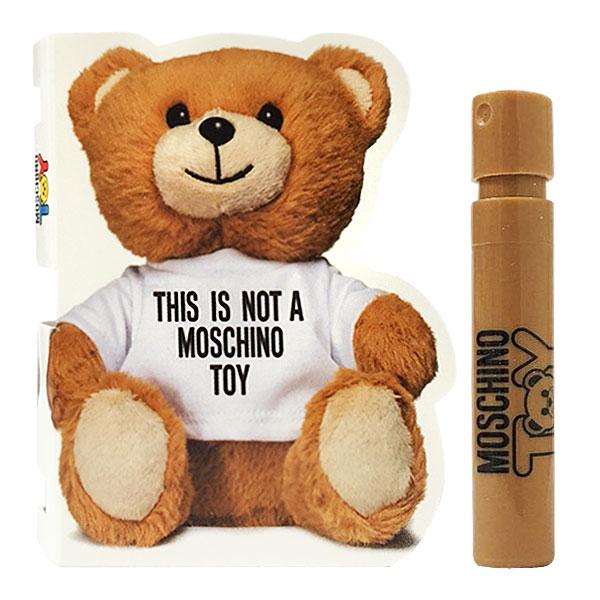 MOSCHINO TOY 熊心未泯淡香水 1ml 針管 《Belle倍莉小舖》