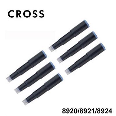 CROSS高仕8924鋼筆墨水卡管(藍黑)組