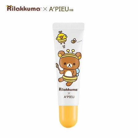 韓國 A  ^#27 PIEU 拉拉熊蜂蜜牛奶唇部去角質 10ml 磨砂唇霜 去角質 Ri