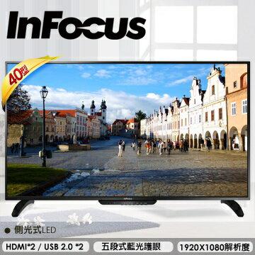 【鐵樂瘋3C】(展翔)InFocus 40型液晶顯示器 XT-40IN800