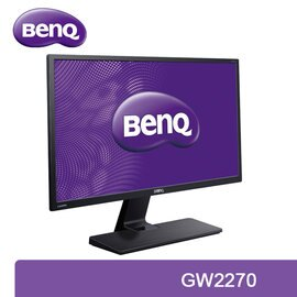 BenQ GW2270  22型 VA 寬螢幕 / 21.5吋 / 不閃屏 / 低藍光 / 一年無亮點保