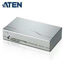 【ATEN 宏正】4埠 VGA 視訊螢幕分配器 (VS94A)【三井3C】