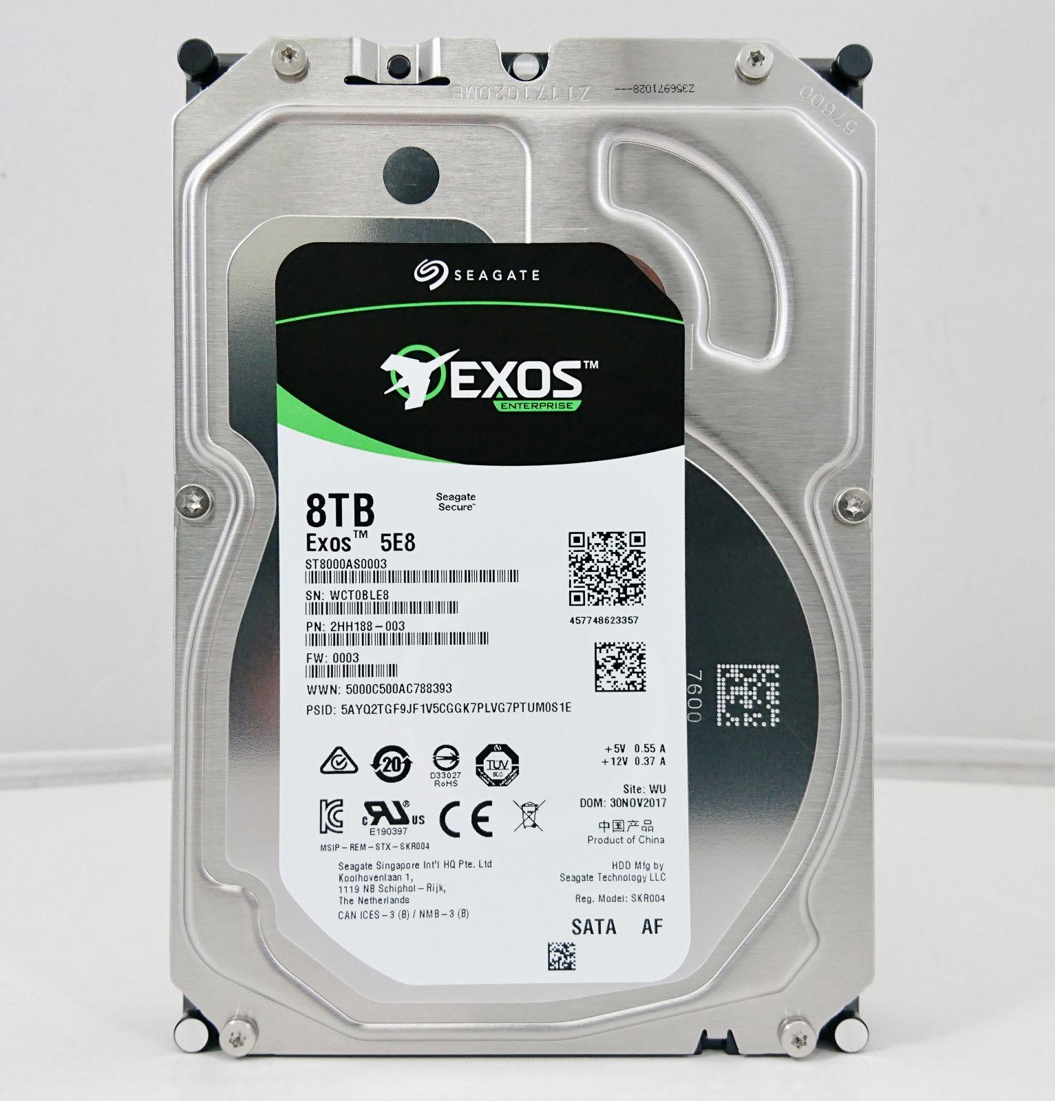 Seagate Archive Exos 5E8 ST8000AS0003 8 TB 5400RPM 3 5