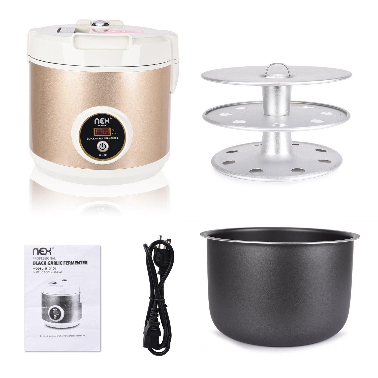 Ricco Nex Automatic Professional Etl Certificated Black Garlic Electric Rice Cooker Controller Circuit Controlcircuit Ferment Machines Sf G100 Free Shipping