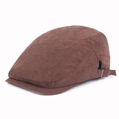 貝雷帽鴨舌帽-簡約線條棉質遮陽男女帽子4色73tv191【獨家進口】【米蘭精品】
