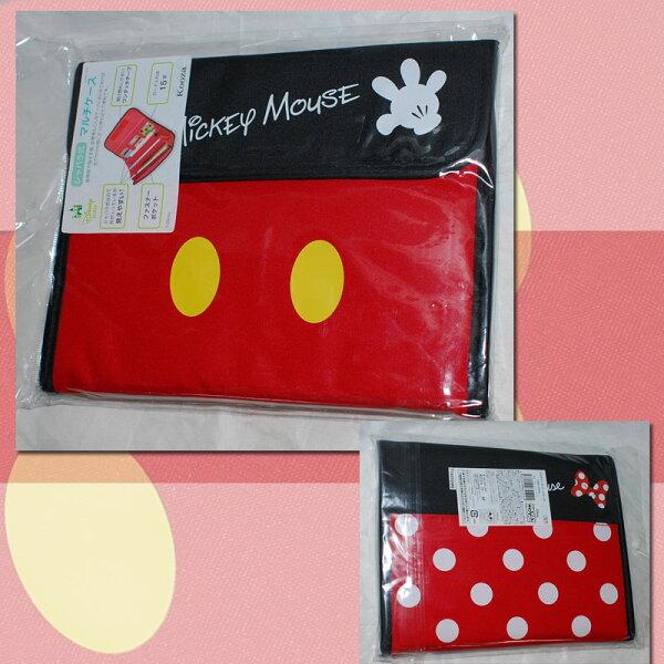 迪士尼米奇米妮多功能證件包文件包信用卡包日本帶回正版品