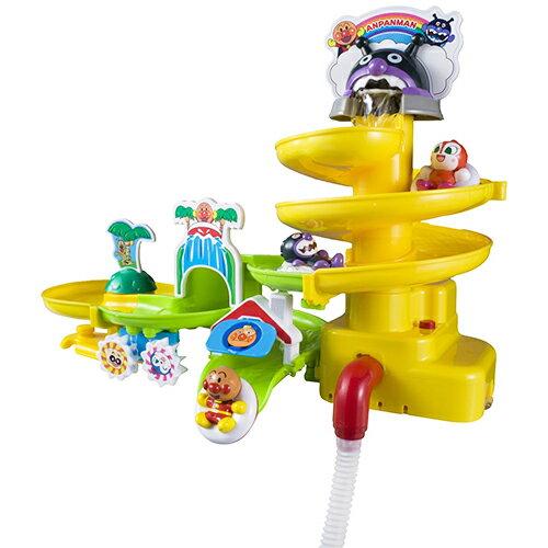 《 麵包超人 》ANP 滑水道洗澡玩具