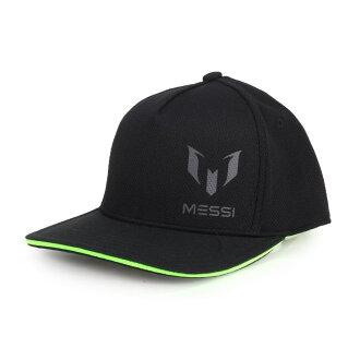 ADIDAS MESSI 運動帽(足球 遮陽 防曬 帽子 鴨舌帽 愛迪達 梅西【98490630】≡排汗專家≡