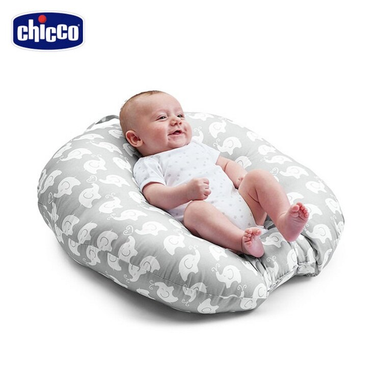 【寶貝樂園】chicco Boppy鳥巢型新生兒躺枕 1
